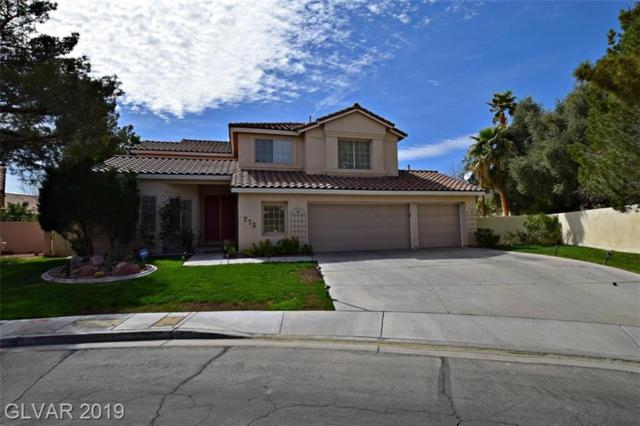 273 La Cuenta, Las Vegas, NV 89074 (MLS #2098961) :: ERA Brokers Consolidated / Sherman Group