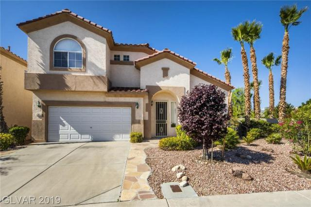 191 Waterton Lakes, Las Vegas, NV 89148 (MLS #2099189) :: The Snyder Group at Keller Williams Marketplace One