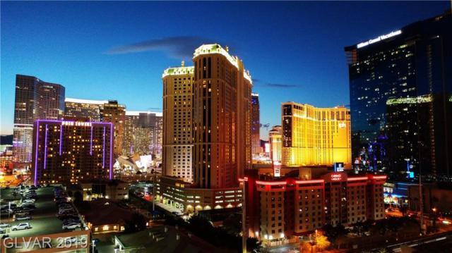 145 Harmon #1121, Las Vegas, NV 89109 (MLS #2099612) :: Trish Nash Team