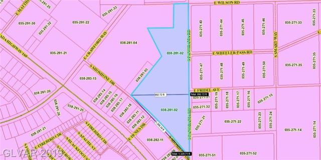 951 S Shoshone, Pahrump, NV 89060 (MLS #2100187) :: ERA Brokers Consolidated / Sherman Group