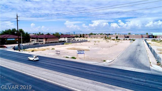 0 Nellis, Las Vegas, NV 89115 (MLS #2101067) :: The Snyder Group at Keller Williams Marketplace One