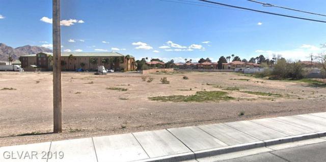 N Las Vegas Blvd, Las Vegas, NV 89115 (MLS #2101587) :: The Snyder Group at Keller Williams Marketplace One