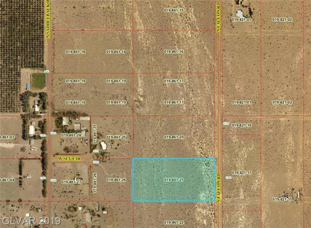 2662 N Falcon Rd, Amargosa, NV 89020 (MLS #2101638) :: Trish Nash Team