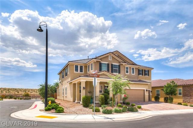 2373 Boretto, Henderson, NV 89044 (MLS #2103126) :: The Snyder Group at Keller Williams Marketplace One