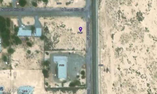 9120 S Homestead, Pahrump, NV 89048 (MLS #2104960) :: The Lindstrom Group