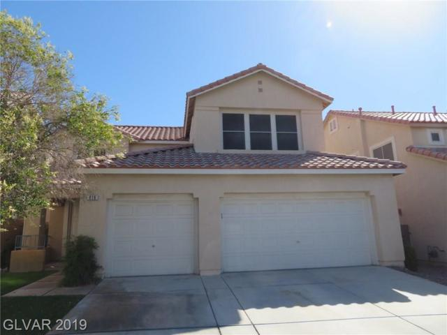 816 Canterbury Cross, Las Vegas, NV 89144 (MLS #2105661) :: The Snyder Group at Keller Williams Marketplace One