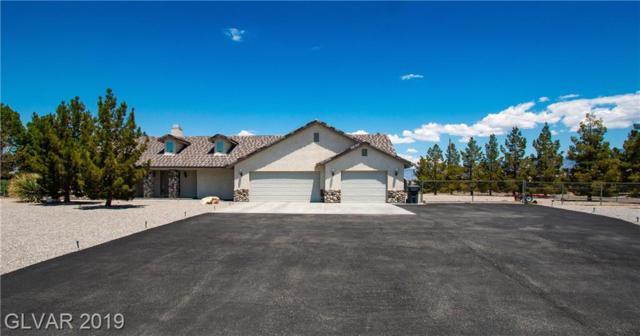 290 E Jaybird, Pahrump, NV 89048 (MLS #2106320) :: Signature Real Estate Group