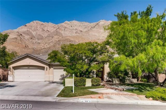844 Market Crest, Las Vegas, NV 89110 (MLS #2106483) :: Signature Real Estate Group