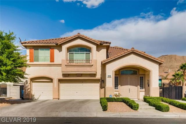 818 Sun Shimmer, Las Vegas, NV 89110 (MLS #2106713) :: The Snyder Group at Keller Williams Marketplace One