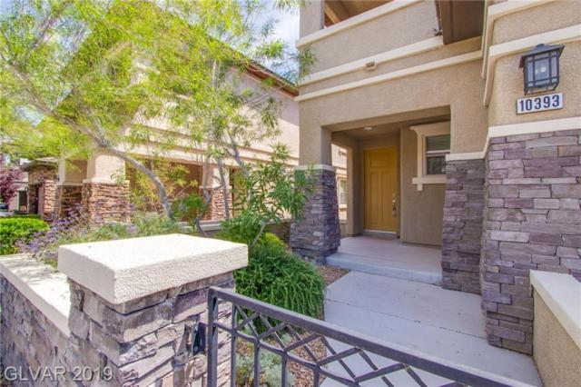 10393 Mystic Pine, Las Vegas, NV 89135 (MLS #2106948) :: The Snyder Group at Keller Williams Marketplace One