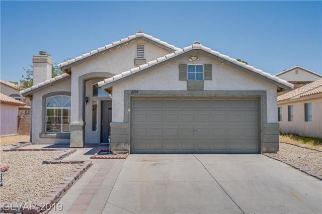 2230 Shatz, Las Vegas, NV 89156 (MLS #2106958) :: The Snyder Group at Keller Williams Marketplace One