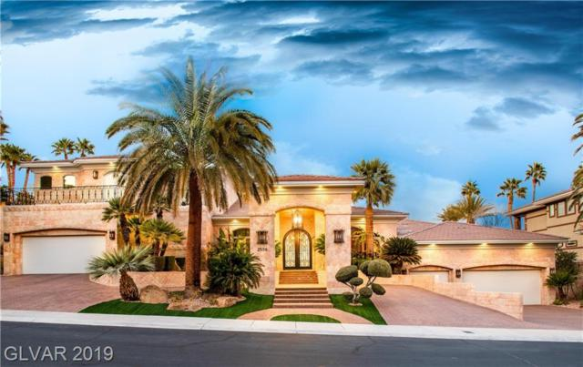 2556 Red Arrow, Las Vegas, NV 89135 (MLS #2107394) :: The Snyder Group at Keller Williams Marketplace One