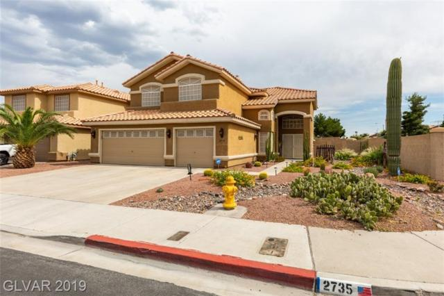 2735 Chokecherry, Henderson, NV 89074 (MLS #2107410) :: The Snyder Group at Keller Williams Marketplace One
