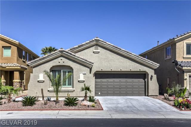 448 First On, Las Vegas, NV 89148 (MLS #2107536) :: The Snyder Group at Keller Williams Marketplace One