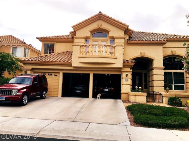 1905 Corta Bella, Las Vegas, NV 89134 (MLS #2108938) :: Trish Nash Team