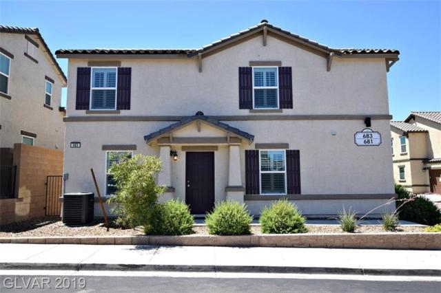 683 Swift Eagle, Henderson, NV 89015 (MLS #2109067) :: Signature Real Estate Group