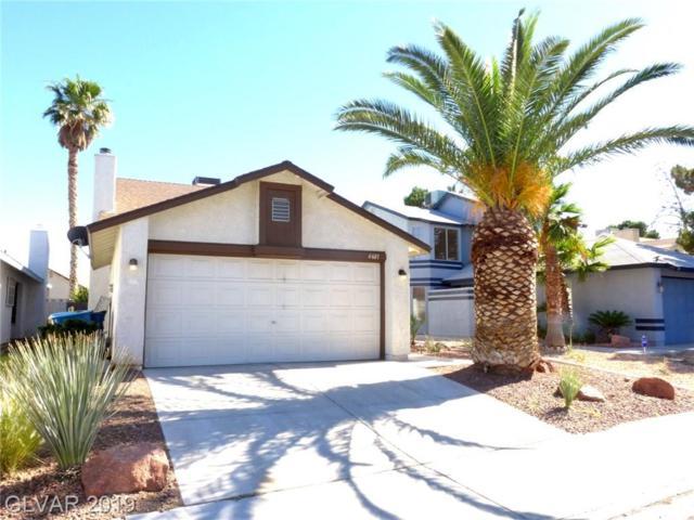 6601 Wheelbarrow Peak, Las Vegas, NV 89108 (MLS #2109429) :: Signature Real Estate Group