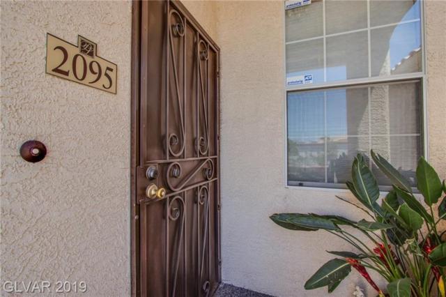 1830 N Buffalo #2095, Las Vegas, NV 89128 (MLS #2109515) :: Signature Real Estate Group