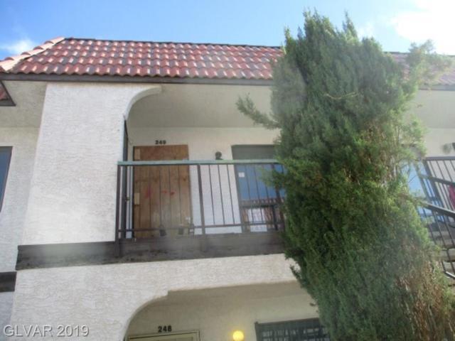 4300 Lamont #249, Las Vegas, NV 89115 (MLS #2109730) :: Signature Real Estate Group