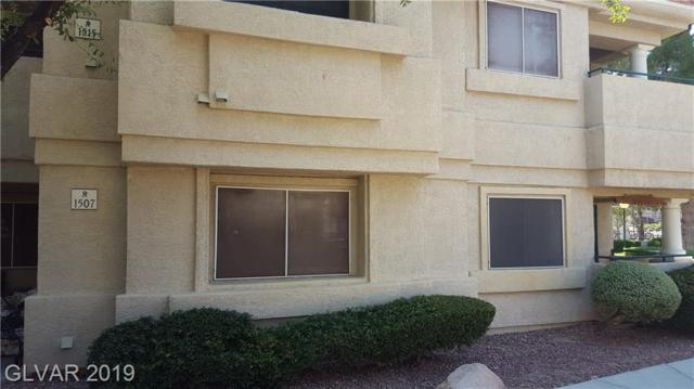 1507 Lake Placid #1507, Henderson, NV 89014 (MLS #2113433) :: The Snyder Group at Keller Williams Marketplace One