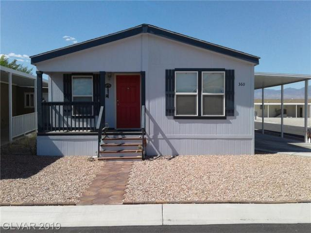 360 W Bel Air, Pahrump, NV 89048 (MLS #2115887) :: The Snyder Group at Keller Williams Marketplace One