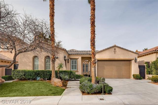 3295 Mission Creek, Las Vegas, NV 89135 (MLS #2115897) :: The Snyder Group at Keller Williams Marketplace One