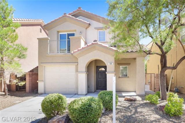 585 Shewsbury, Las Vegas, NV 89178 (MLS #2115906) :: Trish Nash Team