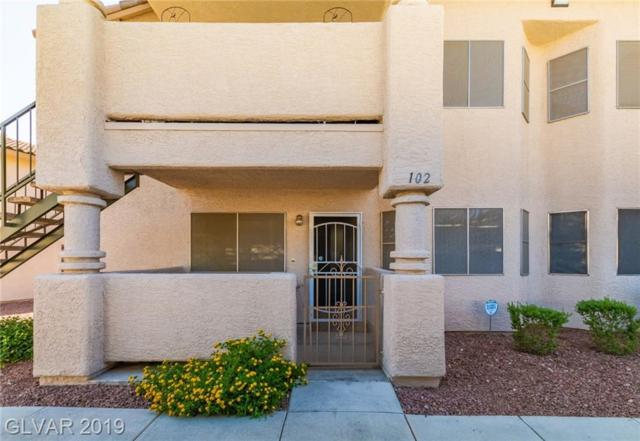 1316 Driscoll #102, Las Vegas, NV 89128 (MLS #2115994) :: The Snyder Group at Keller Williams Marketplace One