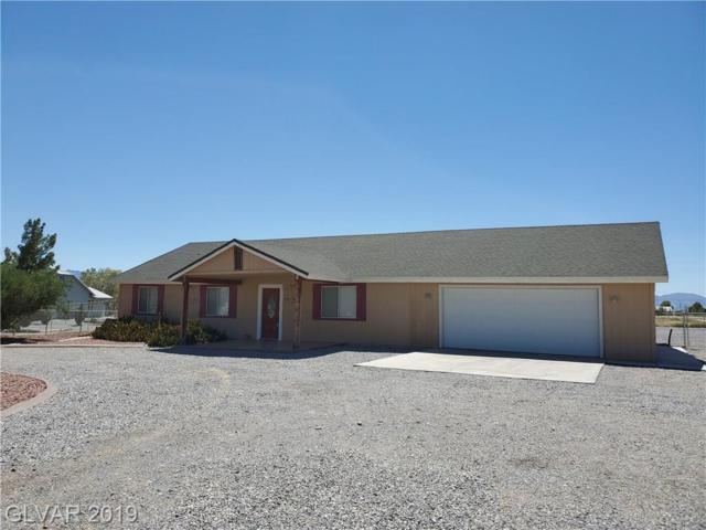 3580 S Underbrush, Pahrump, NV 89048 (MLS #2116085) :: The Snyder Group at Keller Williams Marketplace One