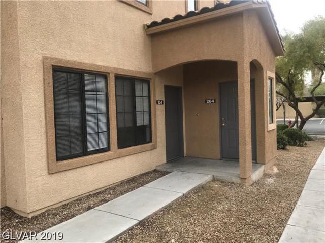 2101 Hussium Hills #104, Las Vegas, NV 89108 (MLS #2116158) :: Signature Real Estate Group
