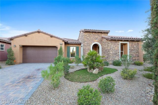 89 Contrada Fiore, Henderson, NV 89011 (MLS #2118060) :: Signature Real Estate Group