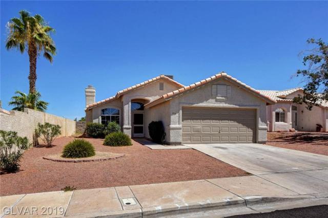 916 Blue Arroyo, Henderson, NV 89015 (MLS #2118126) :: Brantley Christianson Real Estate