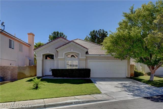 4731 Jasper Rock, Las Vegas, NV 89147 (MLS #2118174) :: Signature Real Estate Group