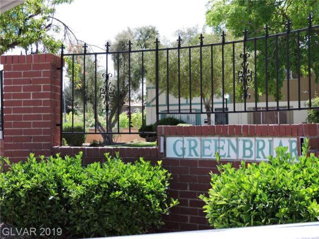 103 Greenbriar Townhouse, Las Vegas, NV 89121 (MLS #2118305) :: The Snyder Group at Keller Williams Marketplace One