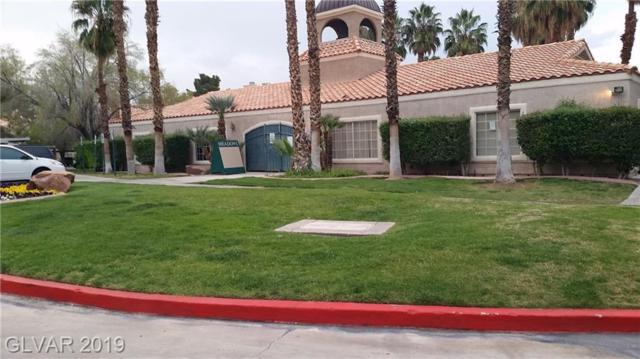 240 Mission Catalina #103, Las Vegas, NV 89107 (MLS #2118329) :: Signature Real Estate Group