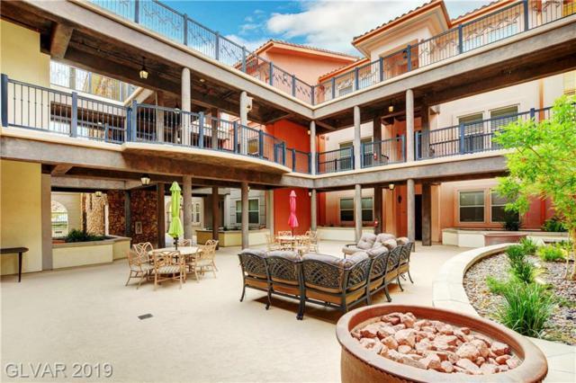64 Strada Principale #104, Henderson, NV 89011 (MLS #2121617) :: Signature Real Estate Group