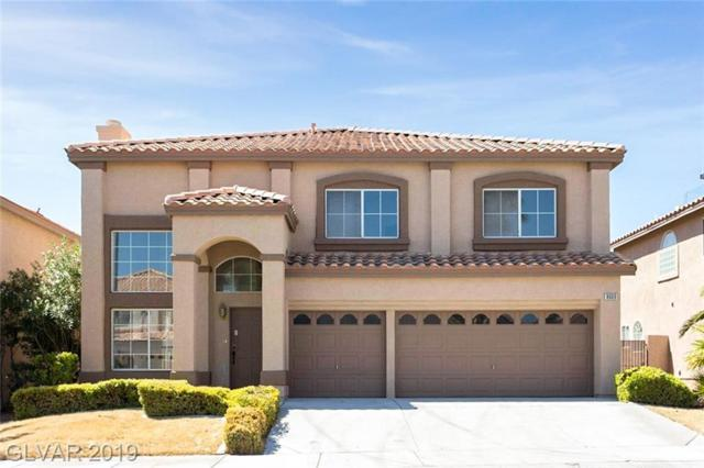 8609 Copper Knoll, Las Vegas, NV 89129 (MLS #2121810) :: The Snyder Group at Keller Williams Marketplace One