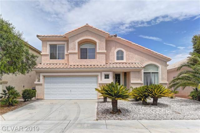 240 Tayman Park, Las Vegas, NV 89178 (MLS #2123628) :: The Snyder Group at Keller Williams Marketplace One