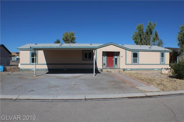 417 Tres Coyotes, Overton, NV 89040 (MLS #2125552) :: The Snyder Group at Keller Williams Marketplace One