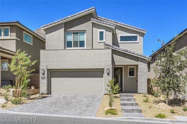 2593 Iron  Crest, Las Vegas, NV 89138 (MLS #2134935) :: The Snyder Group at Keller Williams Marketplace One