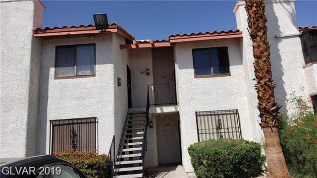 1701 Katie Avenue #68, Las Vegas, NV 89119 (MLS #2135075) :: Hebert Group | Realty One Group