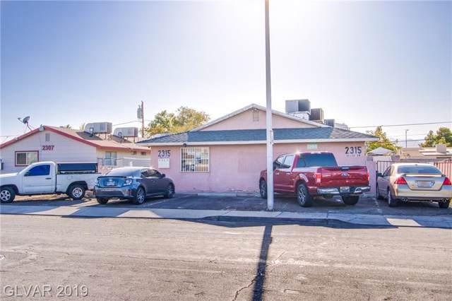 2315 Ellis, North Las Vegas, NV 89030 (MLS #2135150) :: Vestuto Realty Group