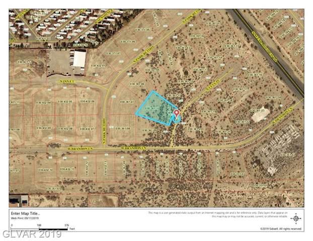 6070 N Levy, Pahrump, NV 89060 (MLS #2135200) :: The Lindstrom Group