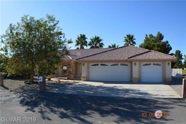 1321 E Eldorado, Pahrump, NV 89048 (MLS #2135407) :: Signature Real Estate Group