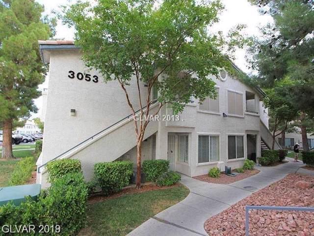 3053 Casey #102, Las Vegas, NV 89120 (MLS #2135509) :: Trish Nash Team