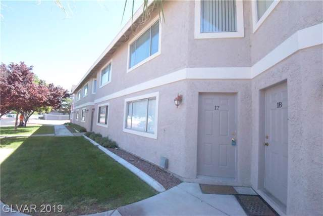 100 Crestline #17, Las Vegas, NV 89107 (MLS #2135569) :: Signature Real Estate Group