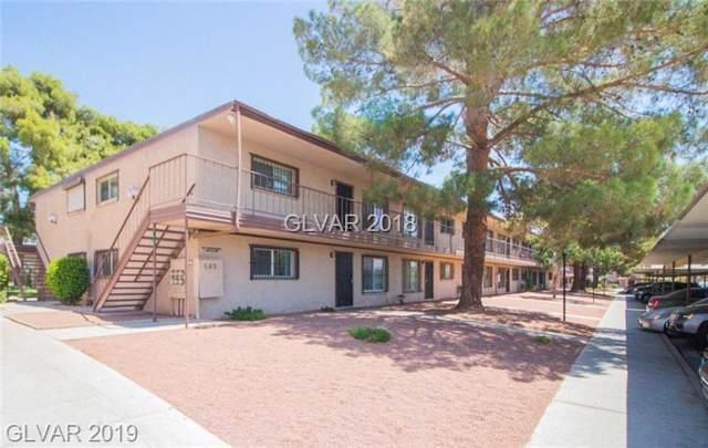 585 Royal Crest #21, Las Vegas, NV 89169 (MLS #2135779) :: Signature Real Estate Group