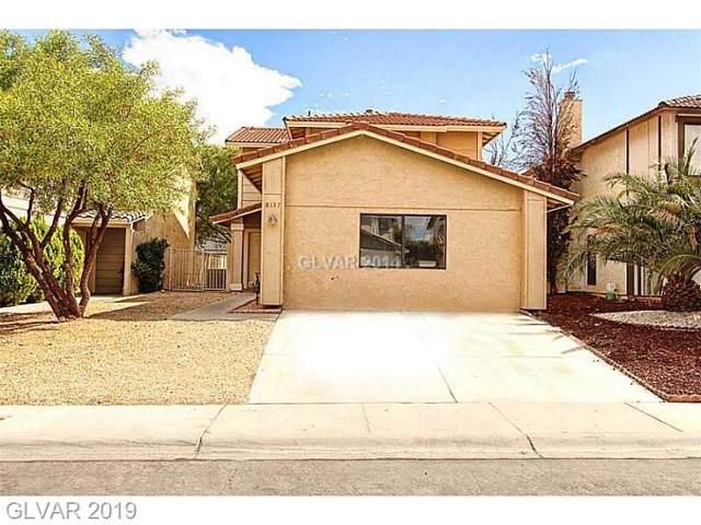 8137 Leger, Las Vegas, NV 89145 (MLS #2135792) :: Signature Real Estate Group