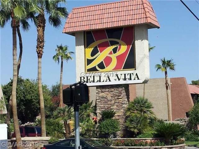 5301 River Glen #210, Las Vegas, NV 89103 (MLS #2136249) :: Signature Real Estate Group