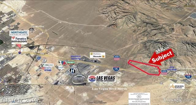 Us I-15 Hwy - Apex Industrial Park, North Las Vegas, NV 89124 (MLS #2136380) :: Vestuto Realty Group